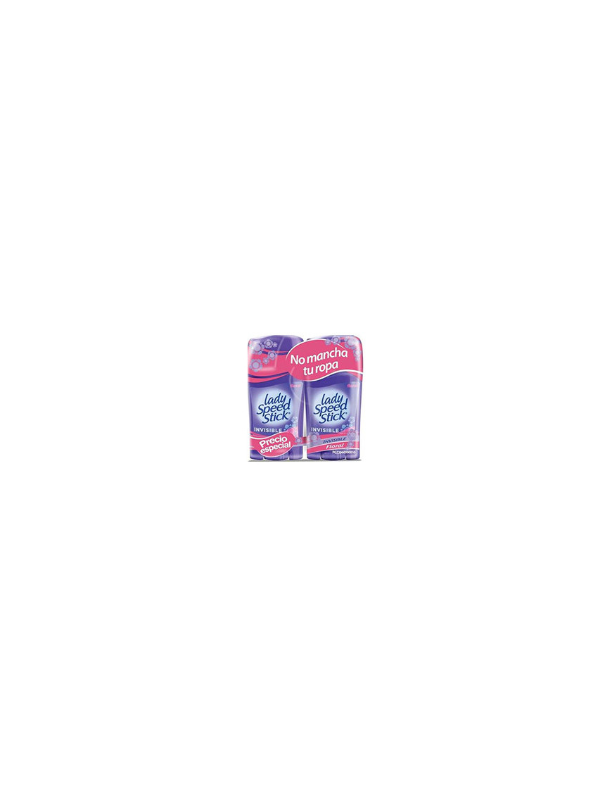 2Pack Lss Invisible Flora Barra 6/2/65 g