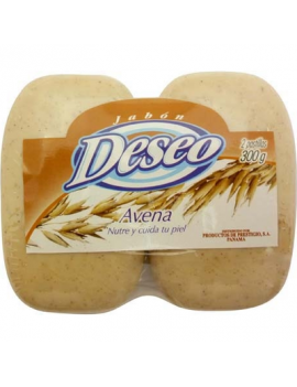 Duo Pack Jabon Avena Deseo 24/300 g