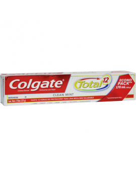 Colgate Of.Cd Total 12 Clean Mint 170 ( 7509546049014 )