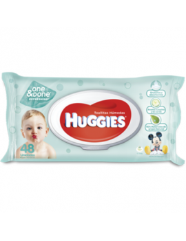 Huggies B/W One Done Refres. Ftop 24/48