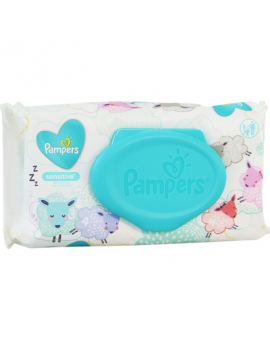 Pampers Baby Wipes Sensitive 8/56Un