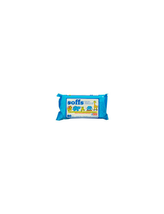 Soffs Baby Wipes Reffill Scent X 80