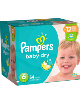 Pampers Baby Dry S6 Super 1/64