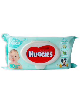 Huggies B/W One Done Refres. Ftop 12/80