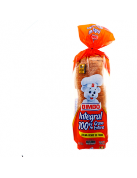 Bimbo Pan Integral 100% 700 g
