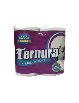 Ternura Papel Hig Doble H 12/4Rollo
