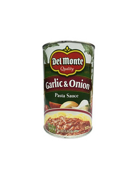 Del Monte Garlic Onion Pasta Sce 12/24 oz