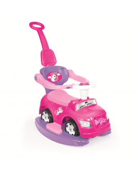 UNICORN STEP CAR 4IN1 PINK DOLU TOY FACTORY