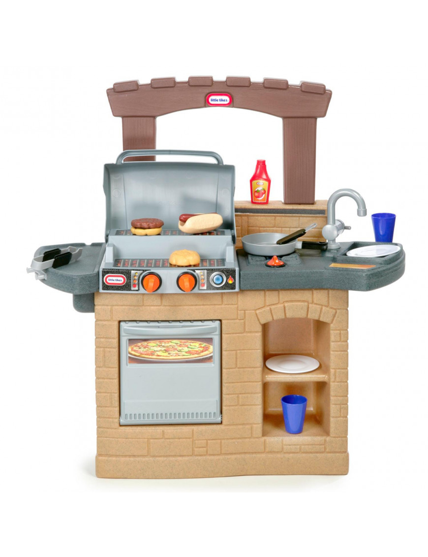 Cook Play Outdoor BBQ 13pcs Little Tikes