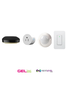 Starter KIT (Controlador + Smart PLUG + Sensor de Movimiento + Switch)