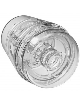 Main Squeeze - POP-OFF - OPTIX - ULTRASKYN Compact Stroker - Clear