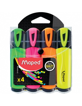 MAPED RESALTAD FLUOPEP BLIST 4UND