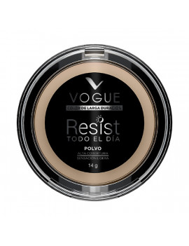 VOGUE polvo compacto resist glamour 14g