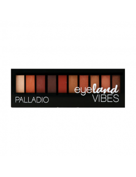 P EYELAND VIBES 10 EYESHADOW CALIFORNIA