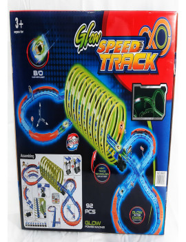 Glow  Speed  Track Racing 92pcs