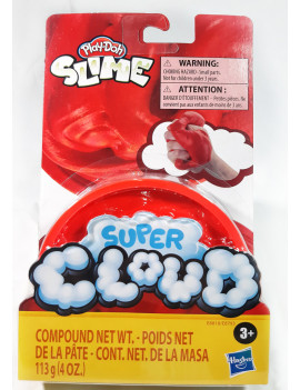 Play Doh Super Cloud Slime Single/Rojo