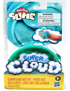Play Doh  Super Cloud Slime Single/Azul