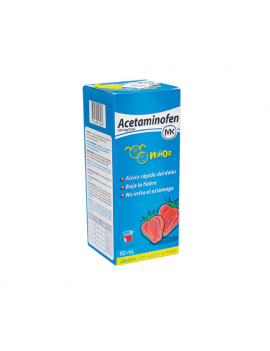 Acetaminofén Jarabe 120mg/5ml (MK) (1 frasco)