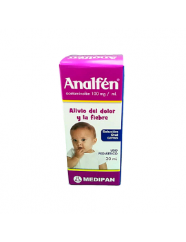 Analfen 100 mg (gotas pediátricas) (1 frasco)
