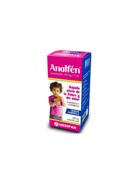 Analfen 160mg/5ml Jarabe pediátrico (1 frasco)