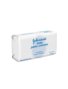 Jabón Johnsons Baby Original 75g (3 unidades)