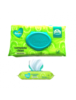 Pampers Complete Clean x 72 wipes (1 paquete)