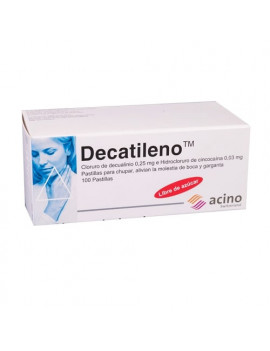 Decatileno (masticable) (1 comprimido)