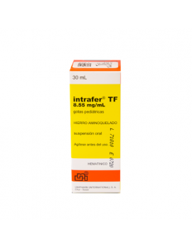 Intrafer TF Gotas 30ml (1 frasco)