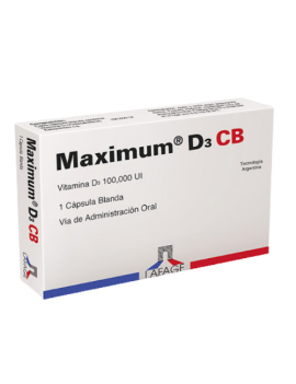 Maximum D3 CB (1 comprimido)
